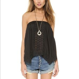 Love Sam Black Zoey Top